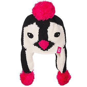Animal Megeve Bobble Hat in Black