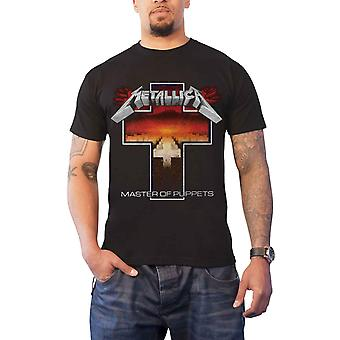 Metallican T paita Master nuket rajat yhtyeen logo uusi virallinen miesten musta