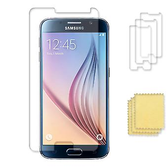 3-pack Samsung Galaxy S6 Screen Protector transparant