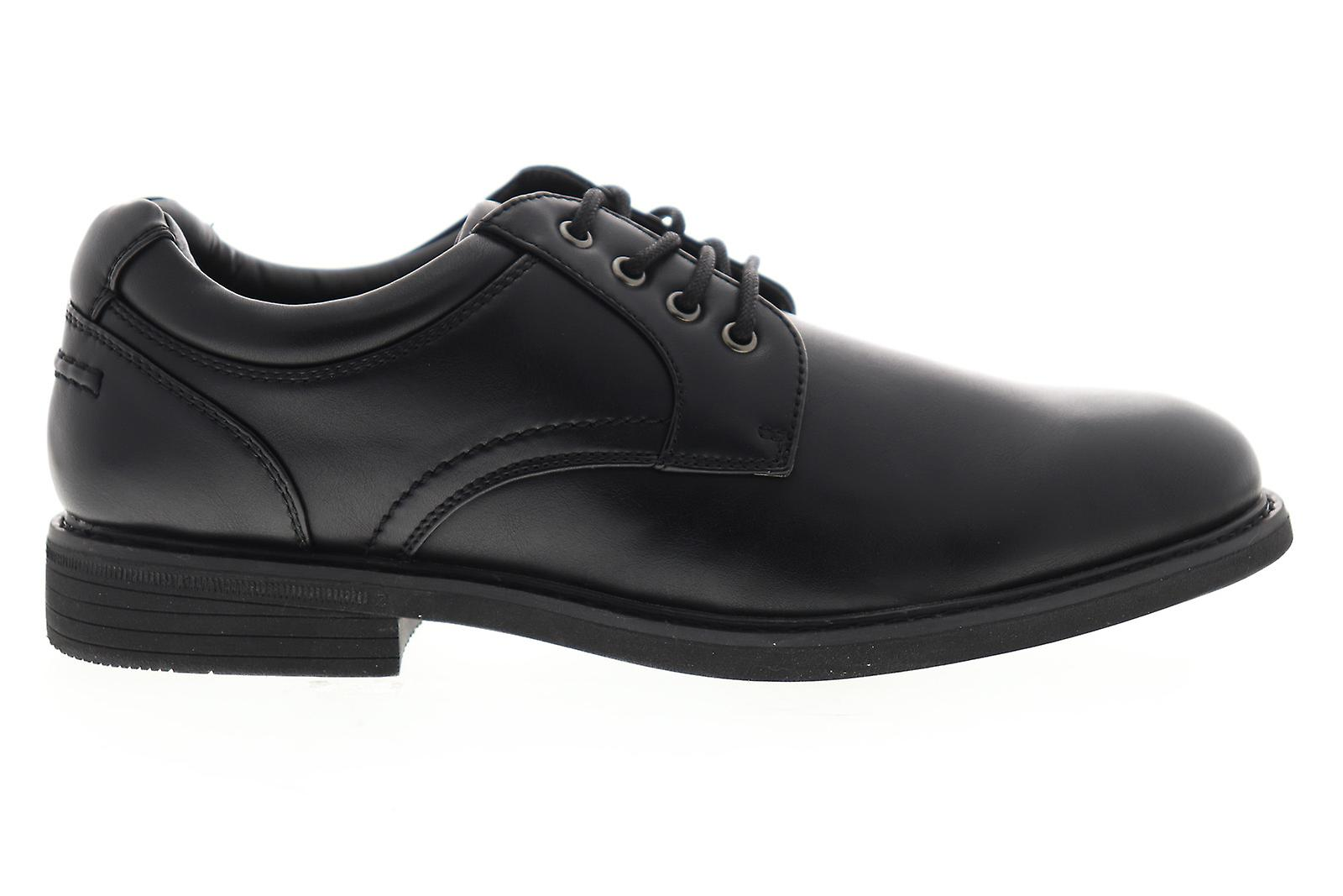 GBX Zayne Mens Black Casual Synthetic Lace Up Oxfords Chaussures