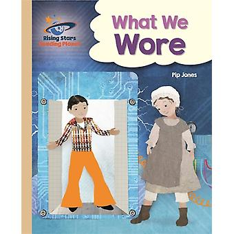 Reading Planet  What We Wore  Gold Galaxy by Pip Jones