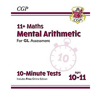 New 11 GL 10Minute Tests Maths Mental Arithmetic  Ages 1