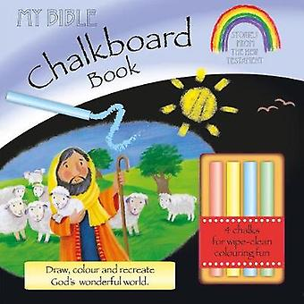 My Bible Chalkboard Book Stories from the New Testament Incl. Chalk par Su Box