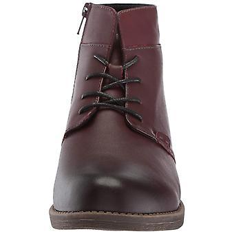 Propét Womens Tatum Lace Bootie Leather Round Toe Ankle Fashion Boots