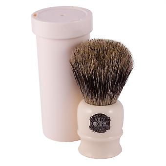 Progress Vulfix Pure Badger Hair Brush - Ivory + Travel Tube