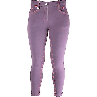 HyPERFORMANCE Childrens/Kids Rust Star Jodhpurs