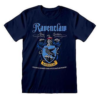 Men's Harry Potter Ravenclaw Crest Blue T-Shirt