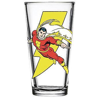 Shazam a Flight Pint Glass