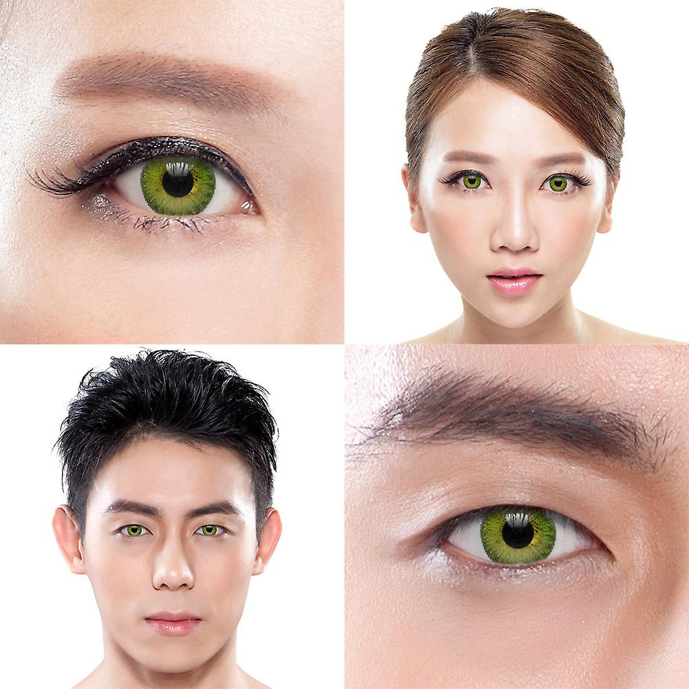 Freshlook Colorblends Gemstone Green Colored Contact Lenses (30 Day)