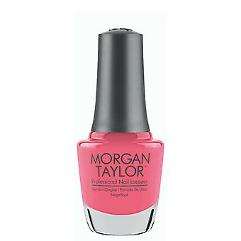 Morgan Taylor Pink Flame-Ingo Luxury Smooth långvarig nagellack lack