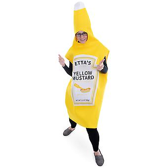 Yellow Mustard Costume