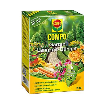 COMPO Garden Long-term fertilizer, 2 kg
