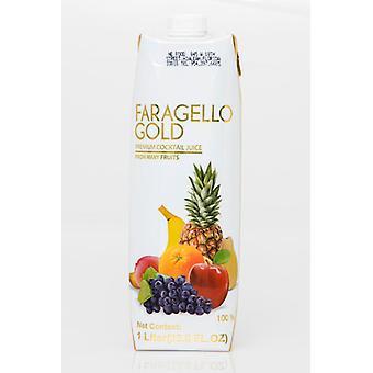 Faragello Gold Premium Cocktail -( 1 Lt X 12 Bottles )