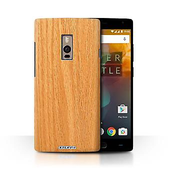 STUFF4 Case/Cover for OnePlus 2/Two/Pine/Wood Grain Effect/Pattern