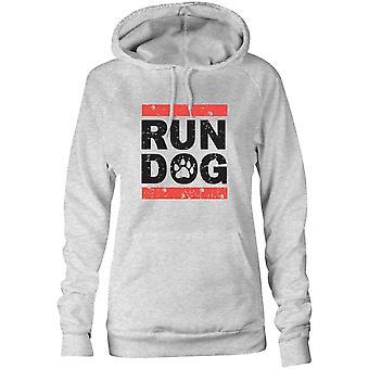 Womens Sweatshirts Kapuzen Hoodie - Run Hunde