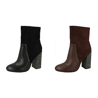 Anne Michelle Womens/Ladies Low Calf Boots