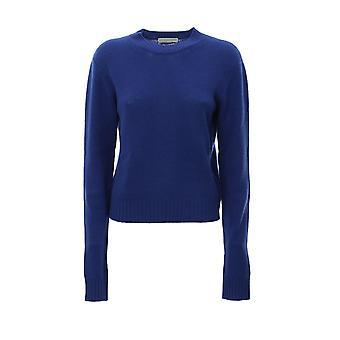 Bottega Veneta 571888va7t04248 Women's Blue Cashmere Sweater