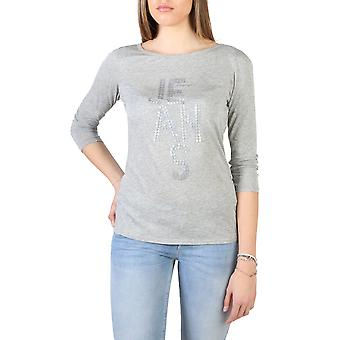 Armani Jeans Original Women Spring/Summer T-Shirt Grey Color - 58030