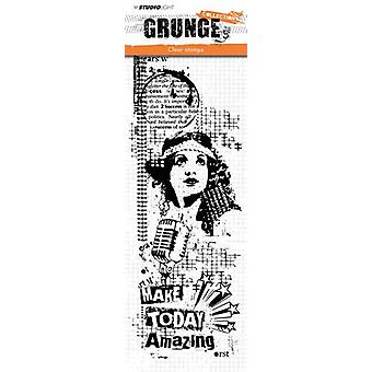 Studio Light Clearstamp Grunge Collection 2.0 nr.357 STAMPSL357 297x105 mm