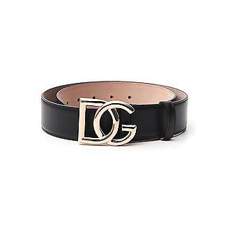 Dolce E Gabbana Be1357ax35080999 Women&apos99s Black Leather Belt