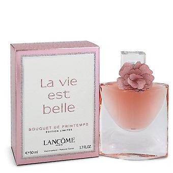 La Vie Est Belle Bouquet De Printemps L'eau De Parfum Spray By Lancome 1.7 oz L'eau De Parfum Spray