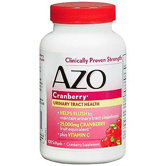 Azo cranberry, maximale sterkte, softgels, 100 EA