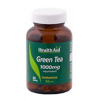 HealthAid Yeşil Çay Özü 1000mg Tablet 60 (804135)