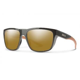 Barra Sonnenbrillen Männer graubraun/ bronzen