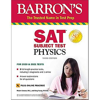 SAT Subject Test Physics with Online Test by Robert Jansen - 97815062
