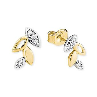 amor Women's gold_yellow stud earrings - 2019936
