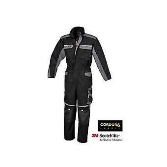 Beta 078250000 7825 /XS X/small Work Overalls Multipocket Style Black/grey