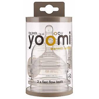 Anti darmkramp speen fase 1 Yoomi: 2-pack