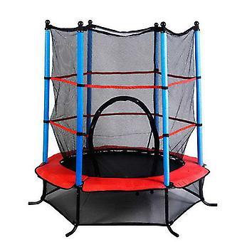 55Inch Junior Kid Trampoline W/Safety Enclosure Net Children Toddlers 4.5FT