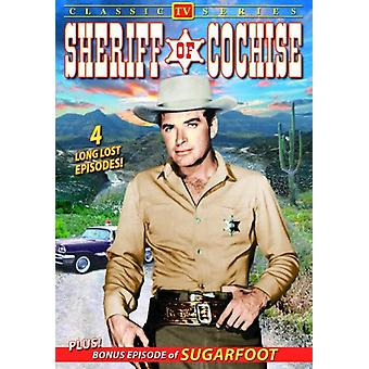 Sheriffi lentokenttää Cochise: Vol. 1 [DVD] Yhdysvallat tuoda