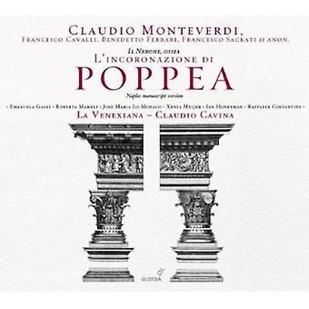 C. Monteverdi - Claudio Monteverdi: Il Nerone, Ossia L'Incoronazione Di Poppea [CD] USA import