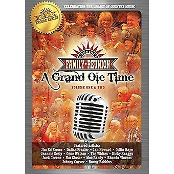 Country Family Reunion: A Grand Ole Time 1-2 [DVD] USA import