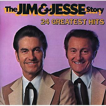 Jim & Jesse - Jim & Jesse Story [CD] USA import