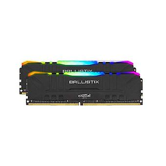 Ballistix 32Gb 16Gbx2 Kit Ddr4 Memory 3200Mhz Cl16