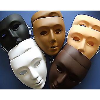 10 Multicultural Full Face Craft Masks for Kids to Decorate