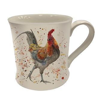 Bree Merryn Rustic Rooster Mug
