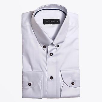 John Miller  - Cotton Button-down Shirt - White