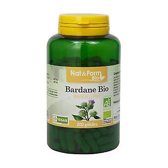 Organic Burdock 200 capsules