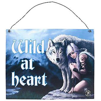 Anne Stokes Protector Metal Sign