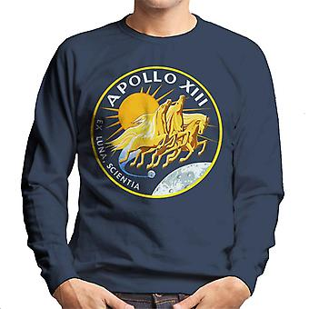 NASA Apollo 13 Mission Badge Men's Sweatshirt
