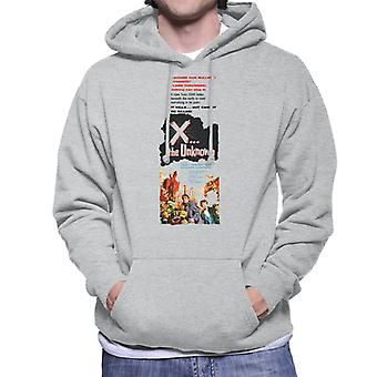 Hammer Horror Films X The Unknown Nothing Can Stop It Men-apos;s Sweatshirt à capuchon