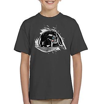 Opprinnelige Stormtrooper Imperial Gunner hjelm Kids t-skjorte