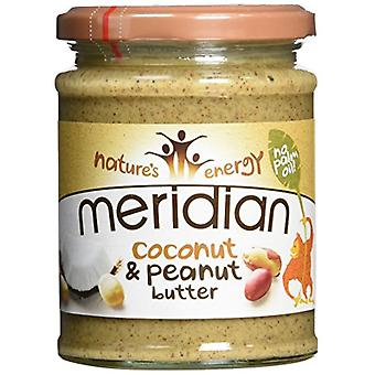 Meridian Foods Coconut and Peanut Butter 6x280 gr