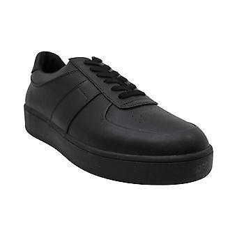 Steve Madden hombres's zapatos de cuero armado bajo top encaje hasta zapatillas de moda