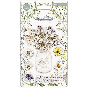 Craft Consortium Wildflower Meadow Clear Stamps Fresh Cut