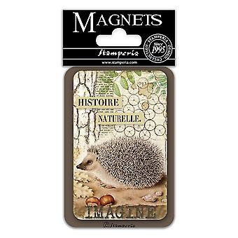 Stamperia Igel 8x5.5cm Magnet